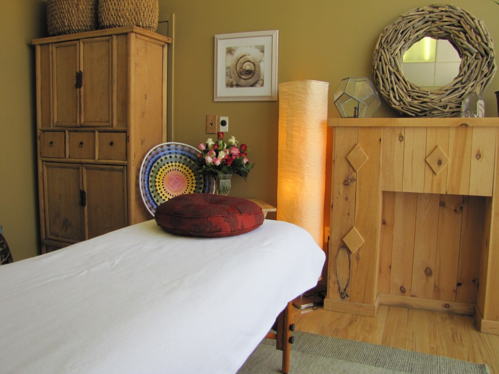 Massage Therapy, Reiki, and Crystal Healing Room