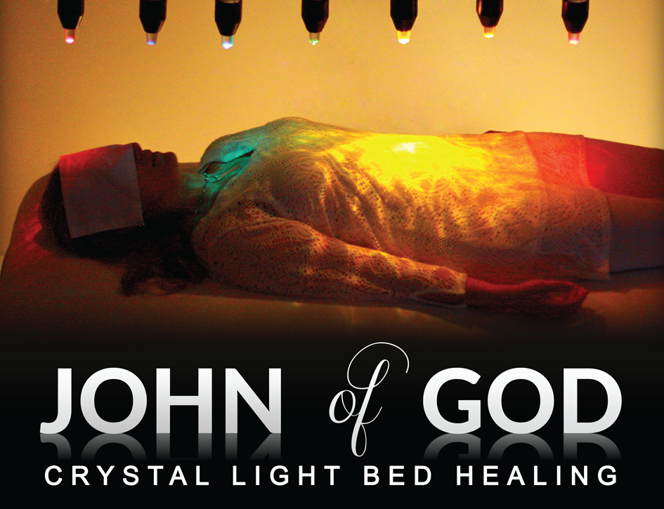 John of God Crystal Light Bed Healing