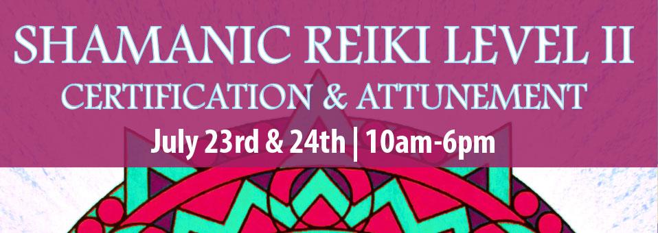 Shamanic Reiki Level II with Rob Murphy