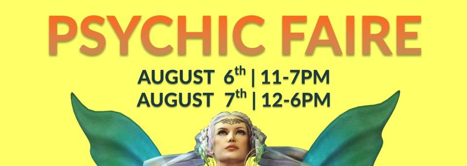 Aquarian Psychic Faire August 6 7 2016