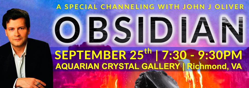 John J Oliver Channeling Jerhoam Obsidian