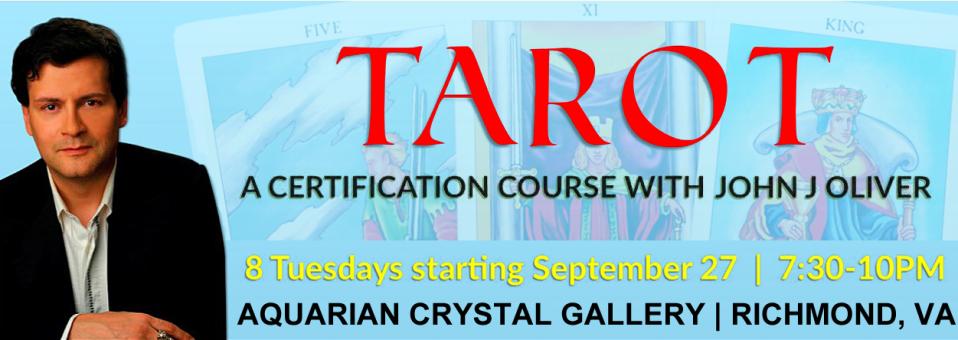 John J Oliver Tarot Certification 2016