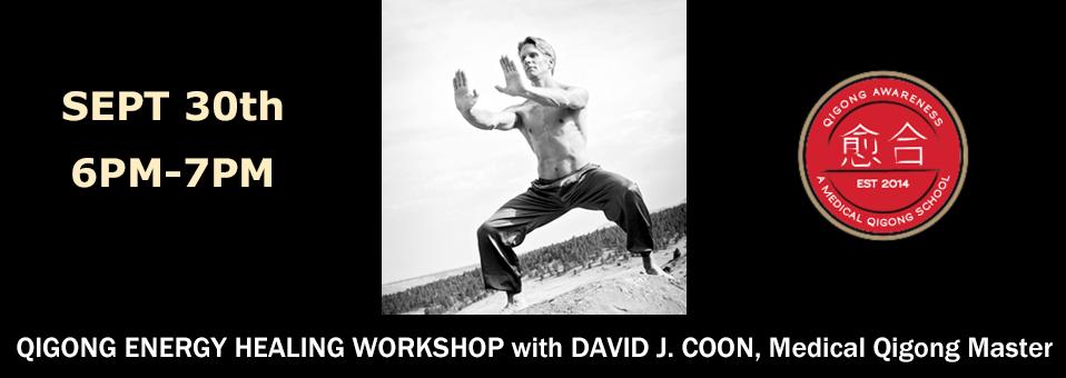 Qigong Energy Healing with David Coon