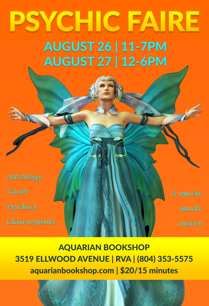 Aquarian Psychic Faire August 26 & 27