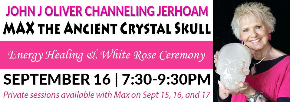 Max the Ancient Crystal Skull Sept 16 2017