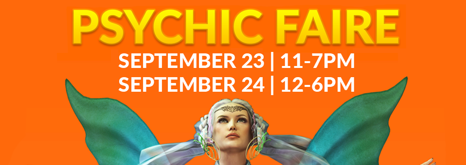 Aquarian Psychic Faire September 23 & 24, 2017