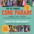 10th Annual Cone Parade Carytown January 1, 2018