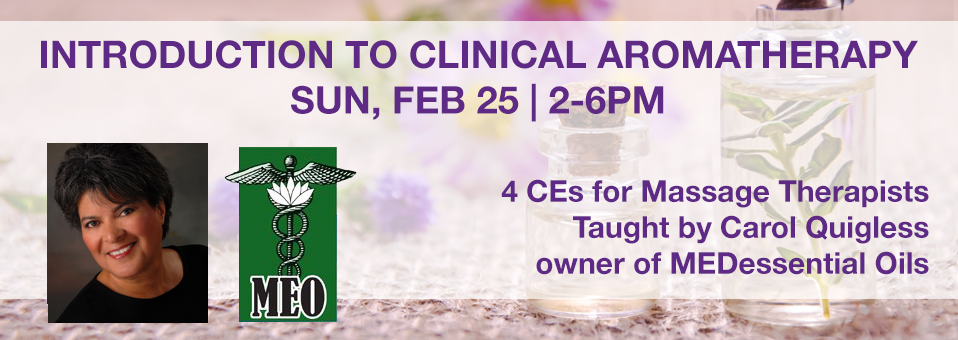 Clinical Aromatherapy February 2018