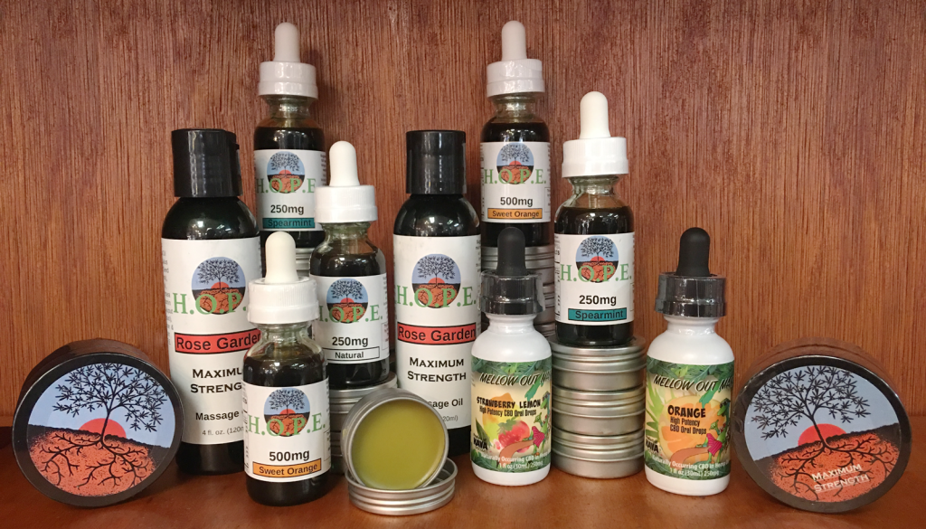 CBD Cannabidiol Tinctures and Salves