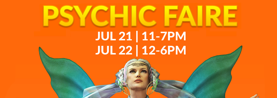 Aquarian Psychic Faire | Jul 21-22, 2018