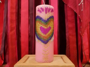 Enchanted Candles Love's Messenger
