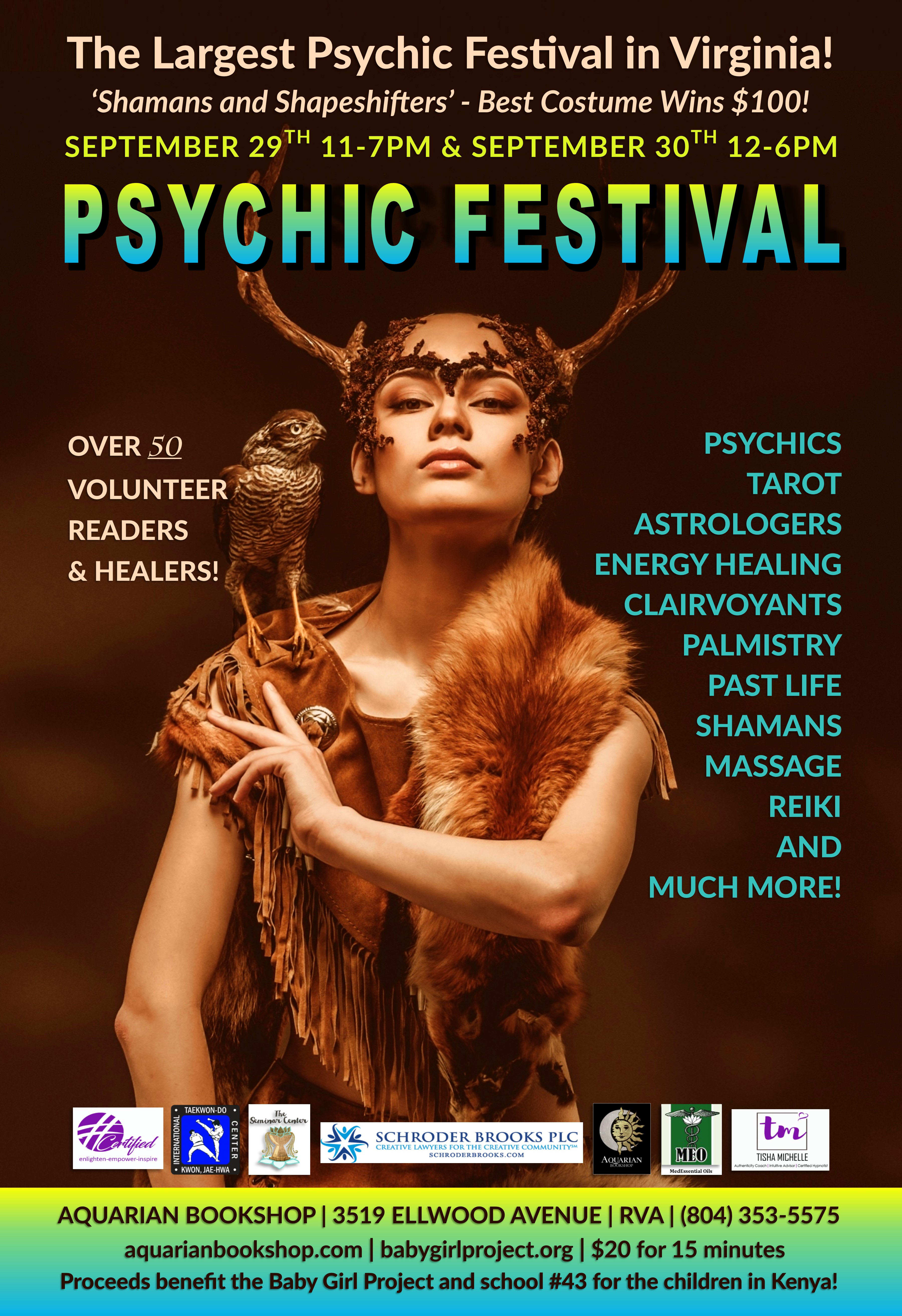 Baby Girl Project Psychic Festival: Shamans & Shapeshifters