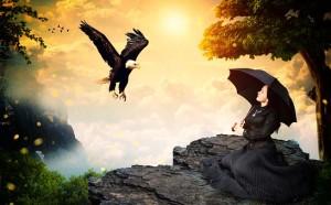 eagle-woman