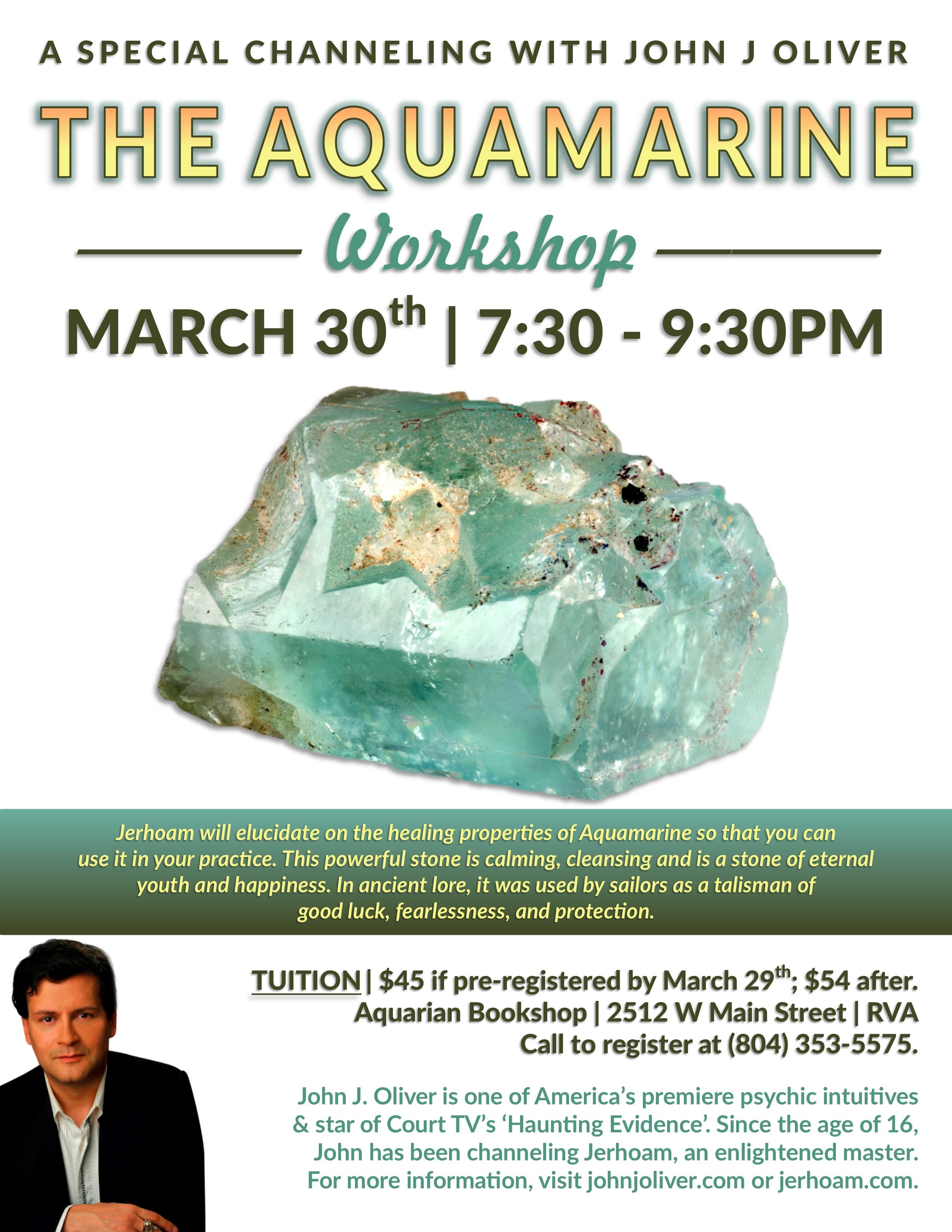 Aquamarine | A Crystal Channeling with Jerhoam
