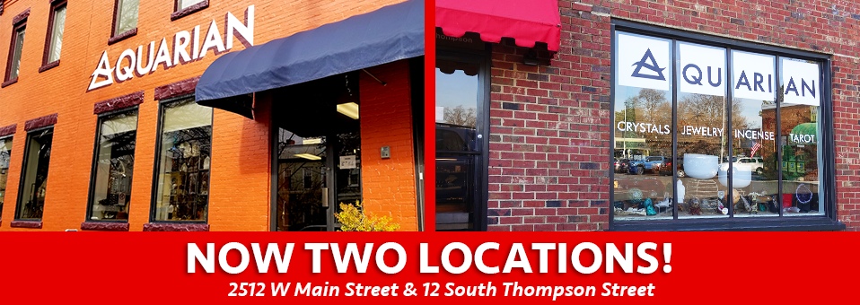 Now Two Locations: 2512 W Main St & 12 S Thompson St