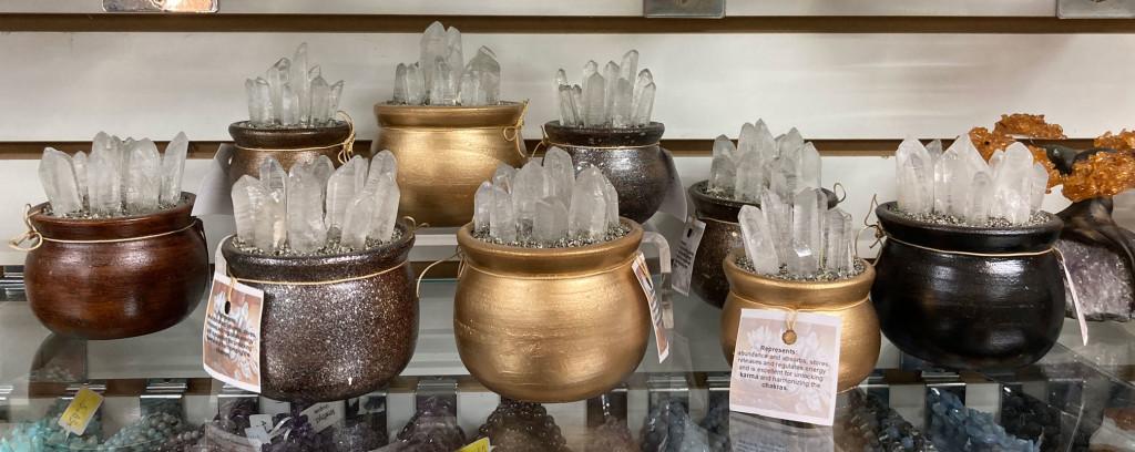 Crystal Regenerators - Lemurian Seed Crystal in Pyrite