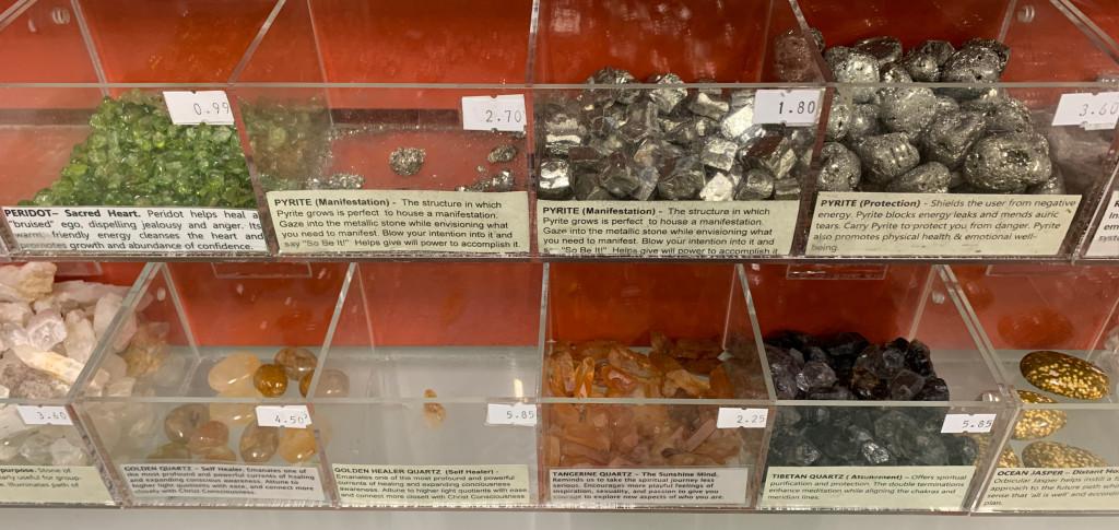 peridot-pyrite