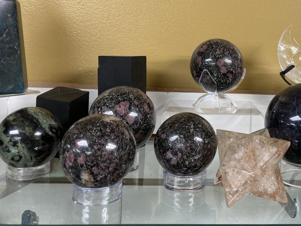 Ruby Spheres and Jet Blocks