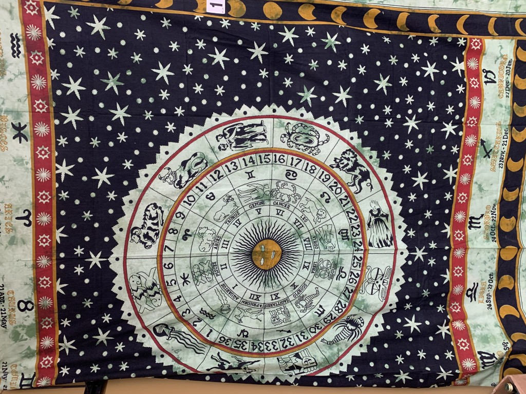 Astrological Calendar Tapestry