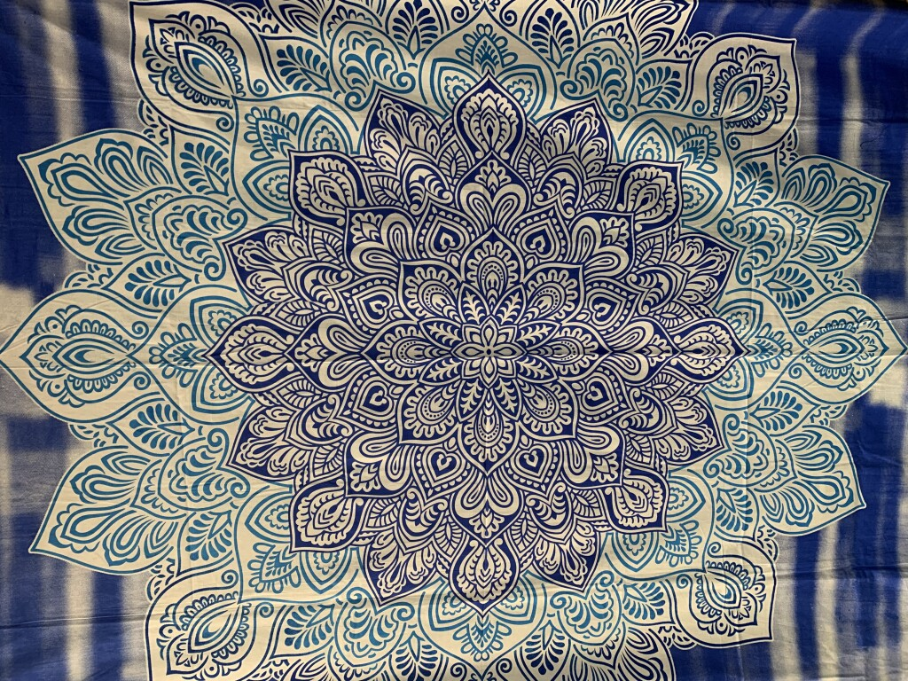 #39 Mandala Dual Color Wall Tapestry