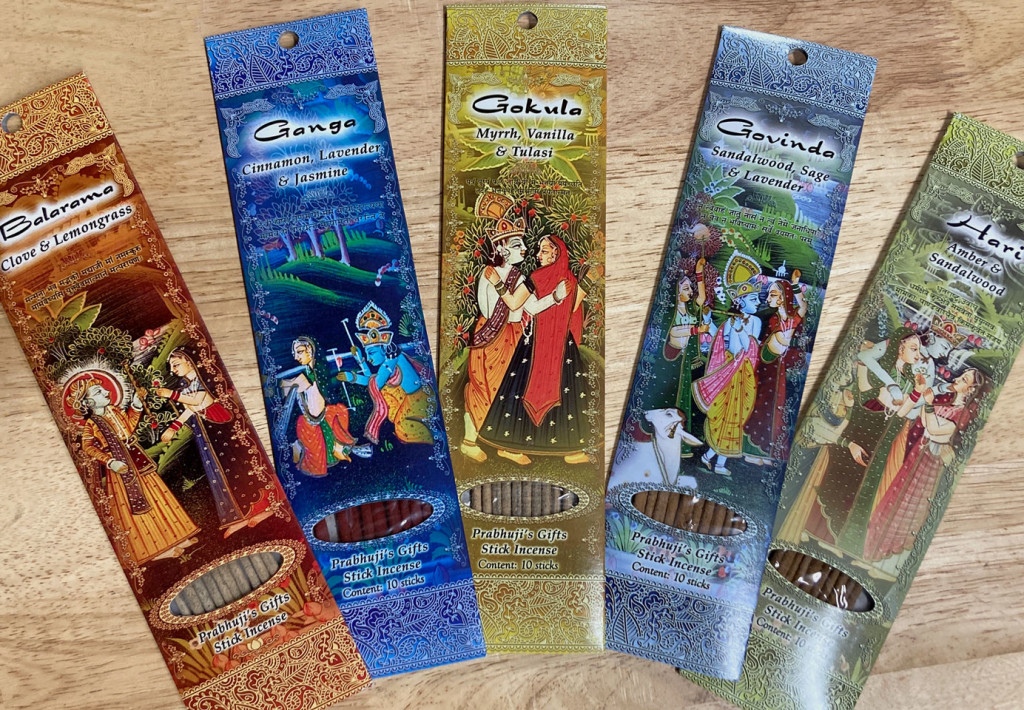 Prabhuji's Gifts incense from India