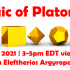 The Magic of the Platonic Solids - tetrahedron, cube, octahedron, dodecahedron, icosahedron - July 17, 2021   3-5pm EDT with Eleftherios Argyropoulos